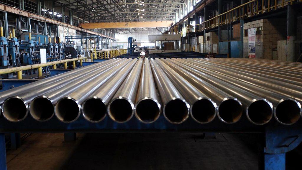 Gandeng Perusahaan Korsel, Krakatau Steel Mau Bangun Pabrik Baja Rp 52 T