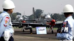Pesawat Tempur TNI AU Tergelincir di Lanud Madiun