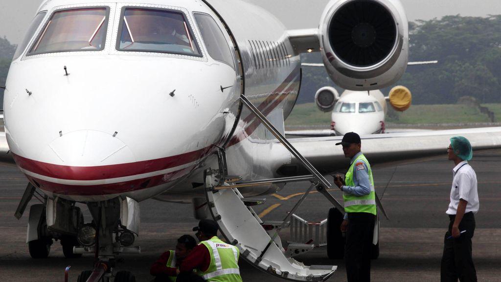 Bayar Miliaran Rupiah, Orang Kaya Tak Bisa Kabur Naik Jet Pribadi