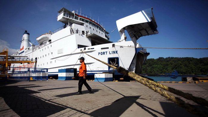 Kapal Feri/Foto: Rachman Haryanto
