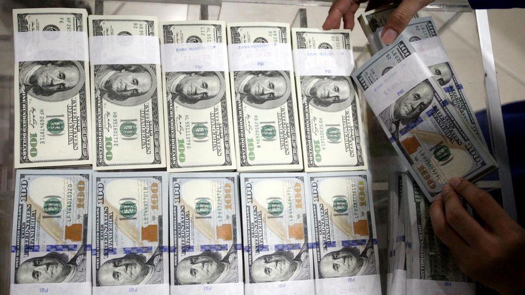 Jelang Reshuffle Kabinet Jilid 2, Dolar AS Naik ke Rp 13.141