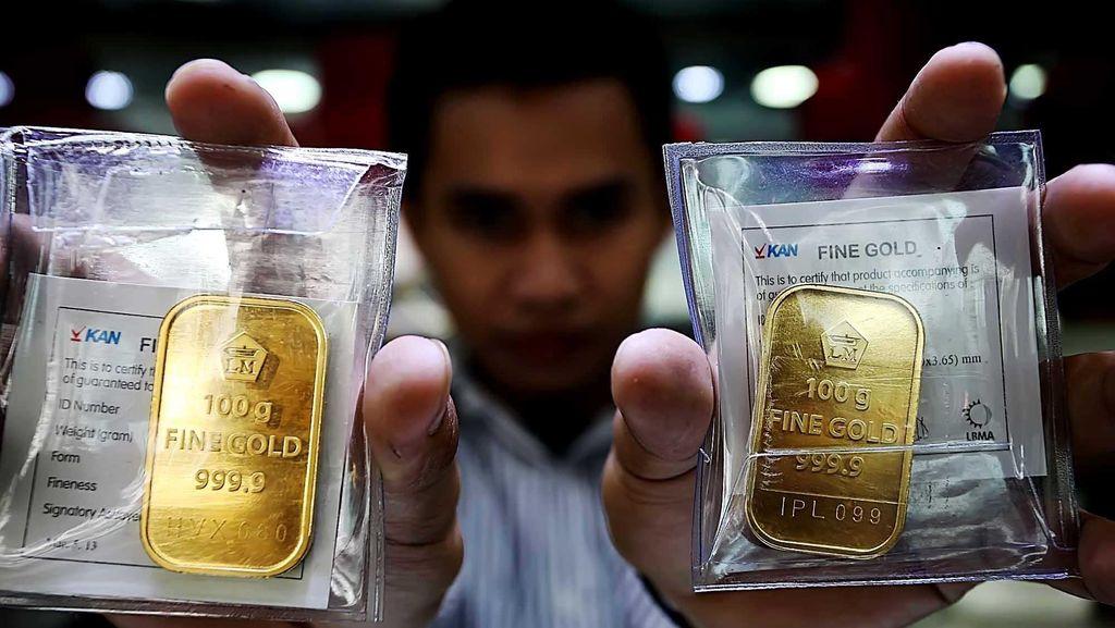 Hari Ini Emas Antam Dijual Rp 648.000/Gram
