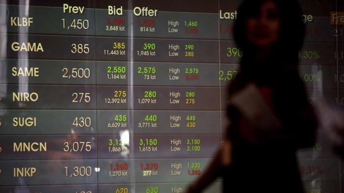Indeks Harga Saham Gabungan (IHSG) naik 16 poin menutup perdagangan terakhir sebelum libur panjang Lebaran. Transaksi dilantai bursa sudah mulai sepi karena investor sudah merasakan euforia libur panjang, Jumat (2/8/2013).