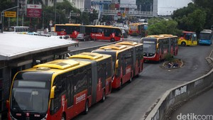 Ini Perubahan Rute Bus TransJ pada 17 Agustus