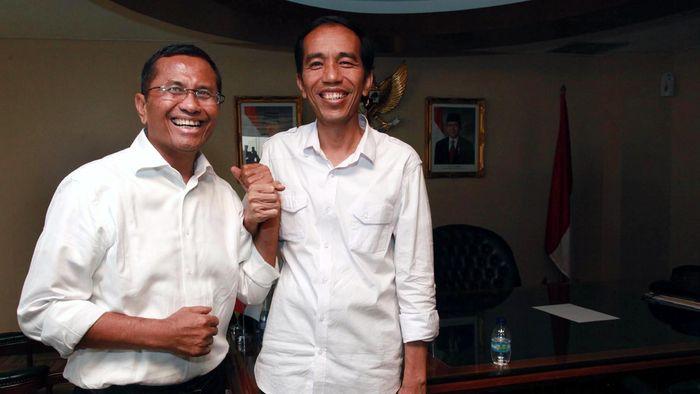 Jokowi bertemu Dahlan Iskan saat Masih Menjadi Gubernur DKI/Foto: Hasan Alhabshy