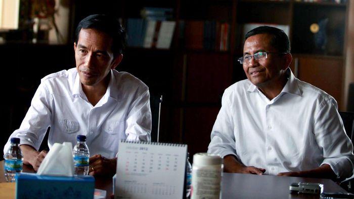 Jokowi dan Dahlan Iskan/Foto: Hasan Alhabshy