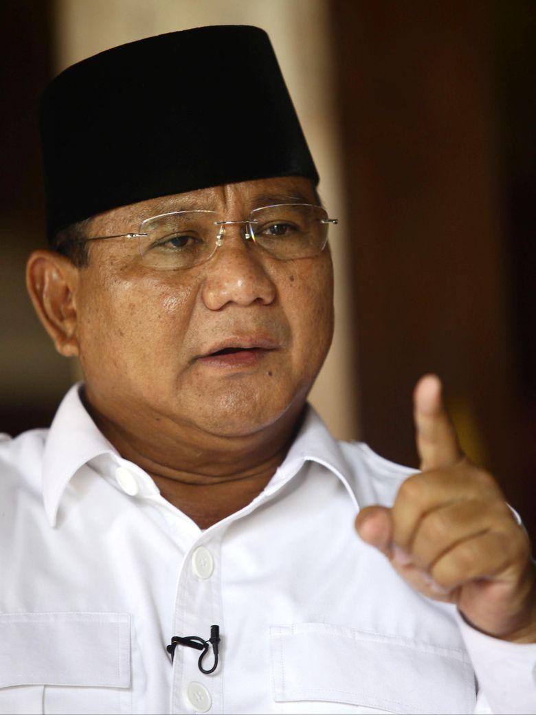 Soal Make Indonesia Great Again, Prabowo: Saya Ingin Bangsa Saya Kuat
