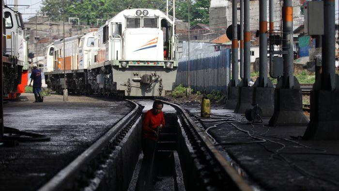 Ilustrasi Kereta Foto: Agung Pambudhy