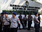 3.886 Personel Jaga Pengundian Nomor Urut Capres-cawapres di KPU