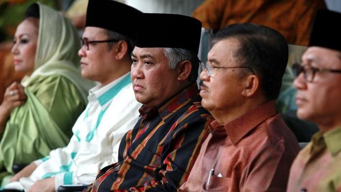 Ketua Umum PP Muhammadiyah, Din Syamsuddin di tempat perayaan Milad ke-100 Muhaamdiyah digelar di Gelora Bung Karno, Jakarta (18/11). File/detikFoto.
