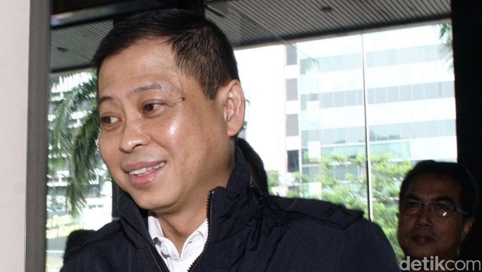 Direktur Utama PT Kereta Api Indonesia (KAI) Ignatius Jonan mendatangi kantor Komisi Pemberantasan Korupsi (KPK).