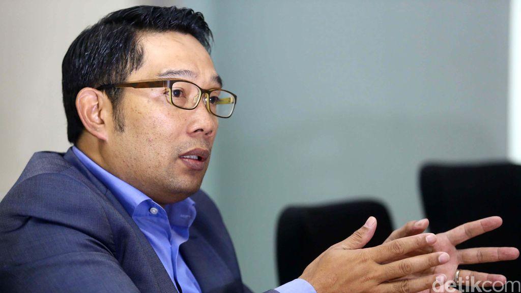 Ridwan Kamil Kaji 6 Bulan Pindahkan Ibu Kota dari Bandung