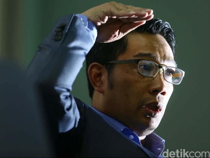 Gubernur Jawa Barat Ridwan Kamil (Foto: Agung Pambudhy/detikcom)