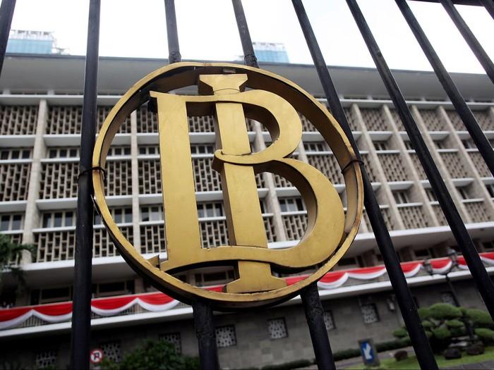 Gedung bank Indonesia (BI).