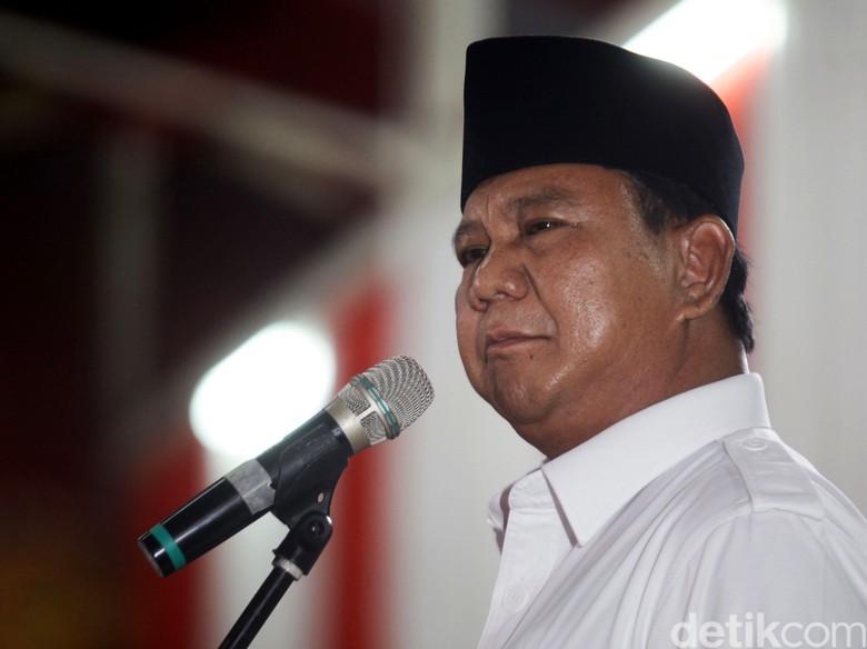 Prabowo Perintahkan Pecat Kader Gerindra Tersangka Pembakaran 7 SD