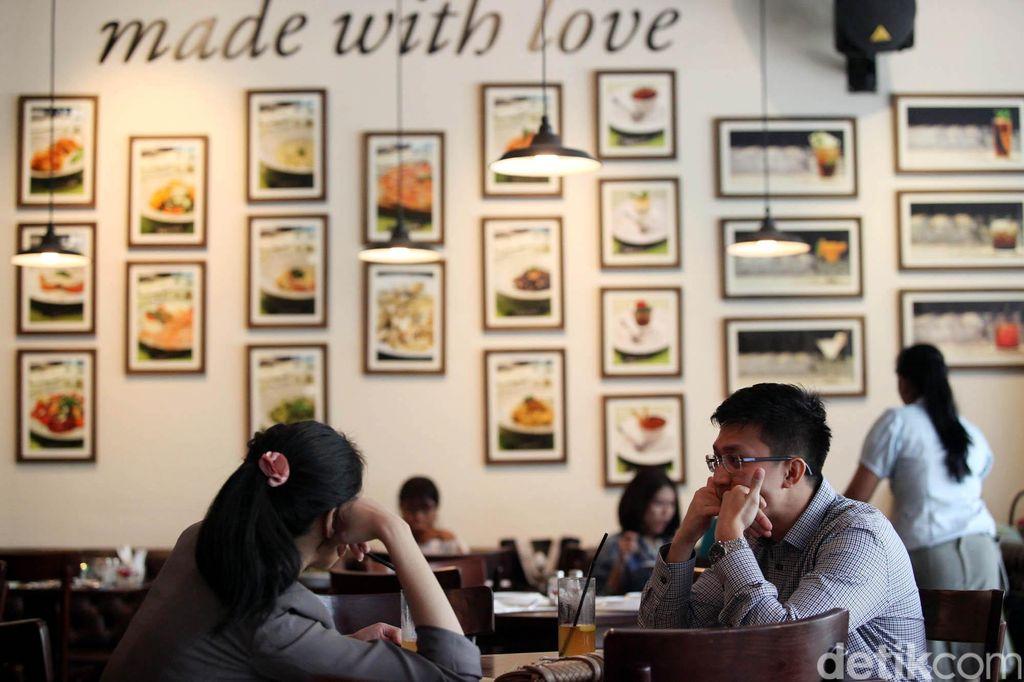Sepasang keskasih di Restoran. Rengga Sancaya/ilustrasi/detikfoto