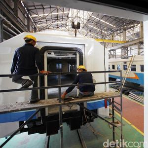 Kereta Made in Madiun Dipesan Filipina hingga Bangladesh