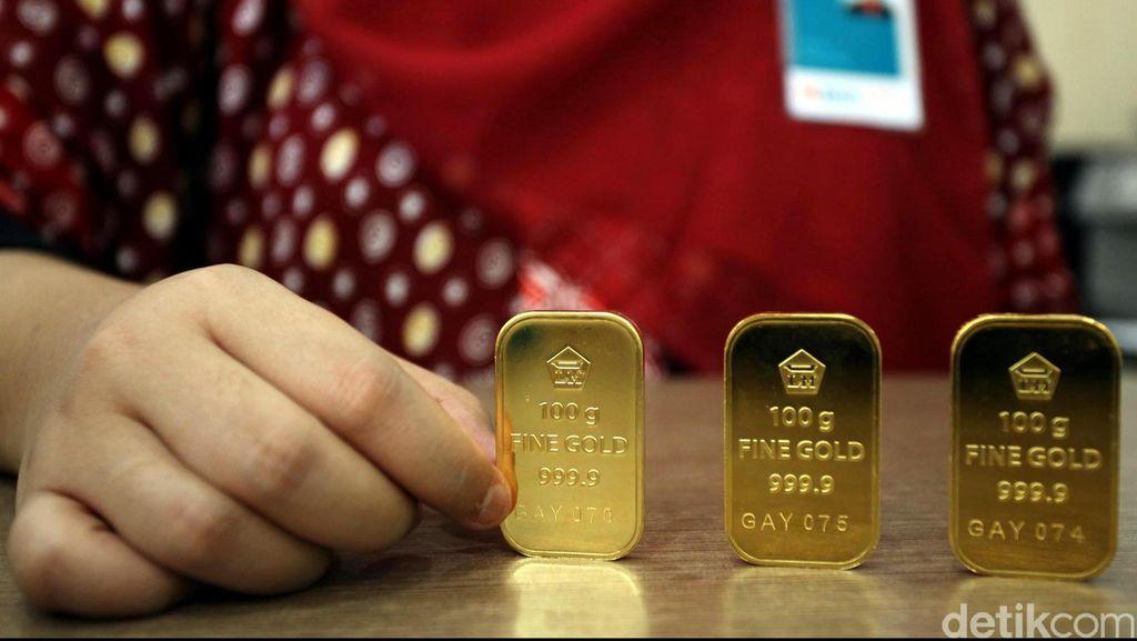 Harga Emas Antam Hari Ini Rp 657.000/Gram