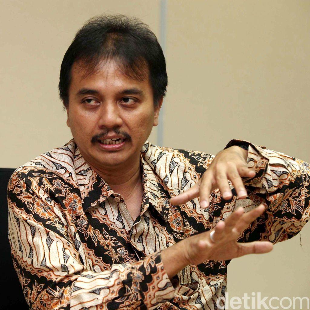 Roy Suryo: Aksi Moge Jokowi Baiknya Ditulis Dilakukan Profesional