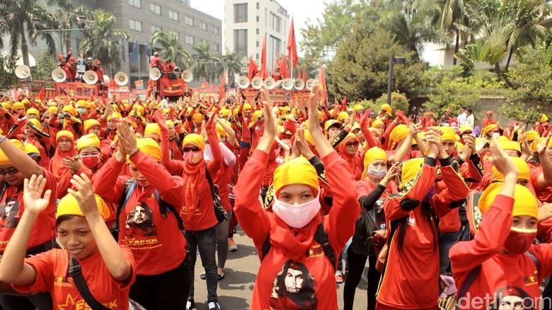 Peringatan May Day Dipusatkan di Monas