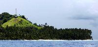 BTS Telkomsel di Pulau Miangas