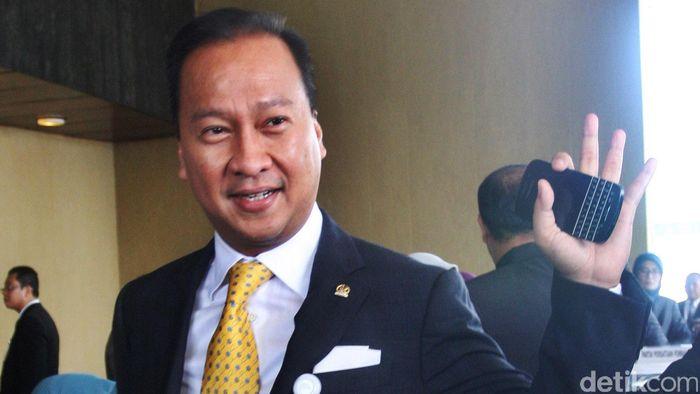 Menteri Sosial Agus Gumiwang Kartasasmita Foto: Lamhot Aritonang