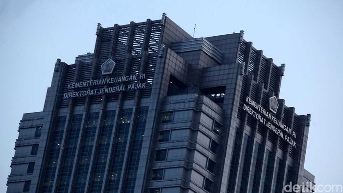 Gedung Kementrian Keuangan dan Direktorat Jendral Pajak. File/detikFoto.