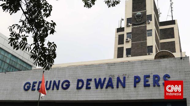 Gedung Dewan Pers, Jalan Kebon Sirih, Jakarta.