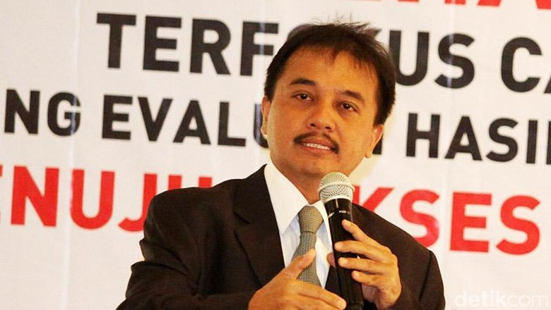 Roy Suryo Tunggu List Barang yang Ditagih Kemenpora