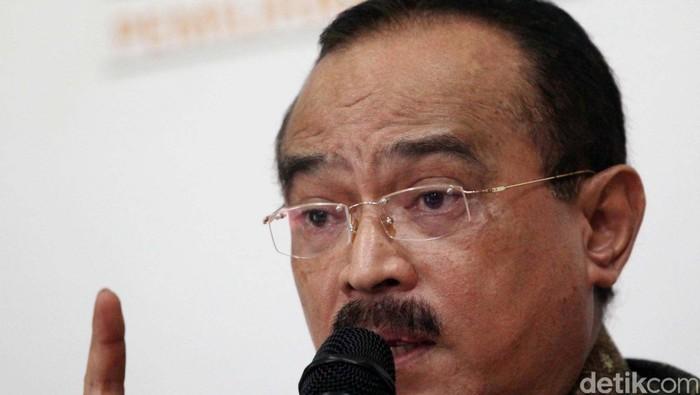 Ketua Umum PNBKI Eros Djarot Seorang budayawan dan juga politikus Indonesia. File/detikFoto.