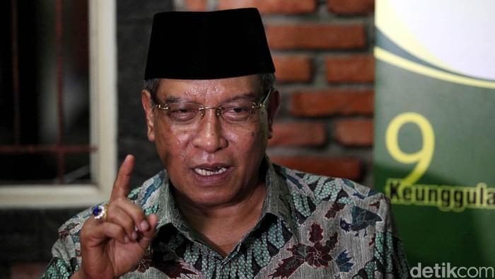 Prof. Dr. KH. Said Aqil Siradj, M.A. atau sering dikenal Said Aqil Siradj adalah Ketua Umum (Tanfidziyah) Pengurus Besar Nahdlatul Ulama periode 2010–2015. File/detikFoto.