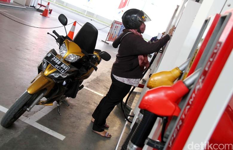 Ilustrasi SPBU Pertamina. Foto: Agung Pambudhy