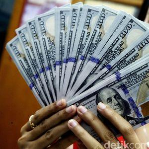 Dolar AS Pagi Rp 14.235