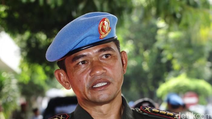 Komandan Grup A Paspampres Maruli Simanjuntak.