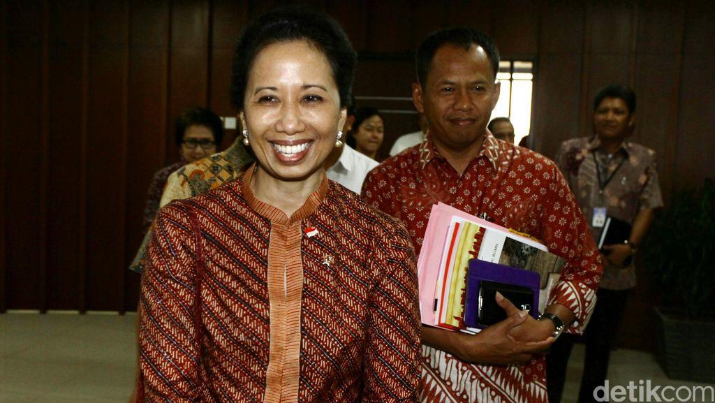 Rapat dengan DPR, Rini Soemarno Diwakili Airlangga Hartarto