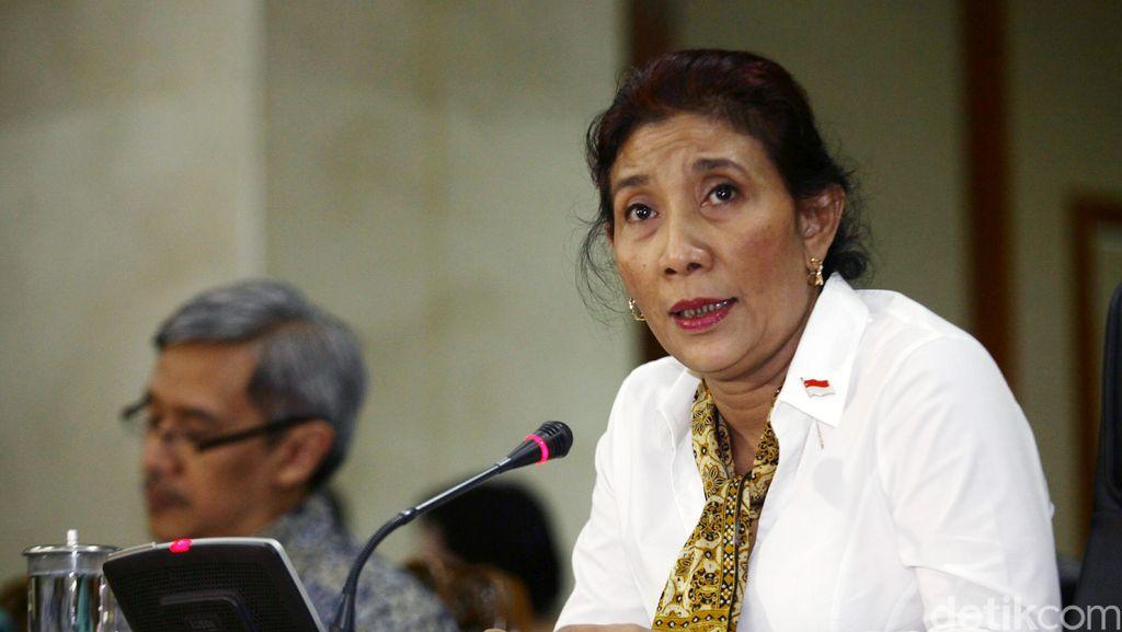 Diminta Setop Tenggelamkan Kapal, Susi: Presiden Sudah Bicara
