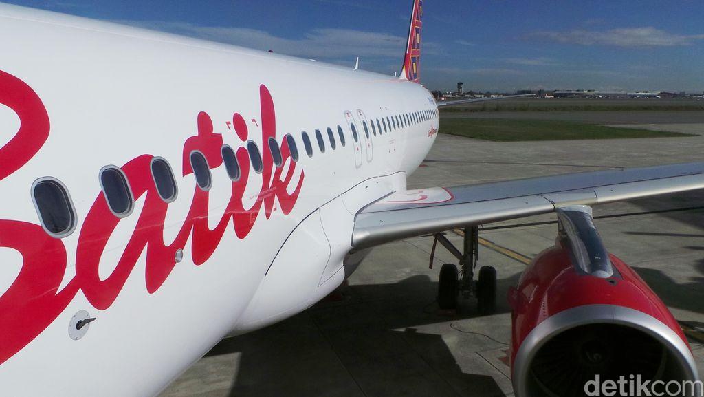 Pesawat Batik Air dan Garuda Mendarat Darurat di Bandara Adi Soemarmo