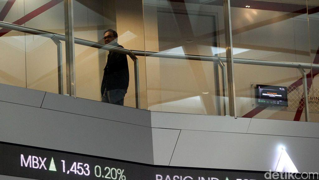 Mengekor Bursa Asia, Sesi I IHSG Ditutup Hijau di 5.661