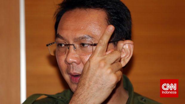 Eks Gubernur DKI Jakarta Basuki T Purnama alias Ahok alias BTP.