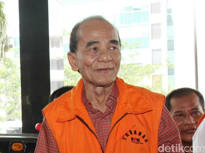 Dapat Grasi Jokowi, Annas Maamun Ternyata Masih Tersangka KPK di Kasus Lain