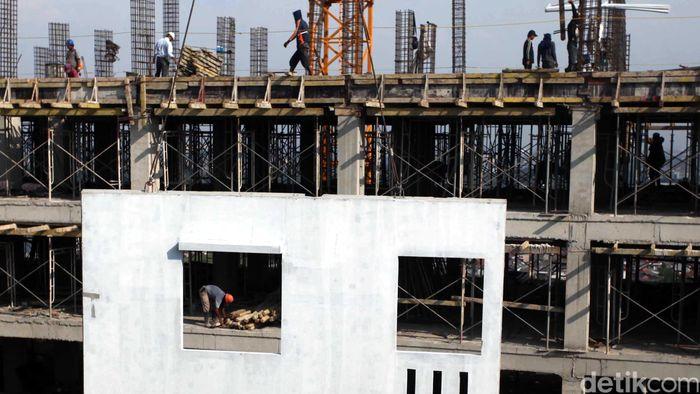 Ilustrasi Pembangunan Rumah Susun (Foto: Hasan Alhabshy)