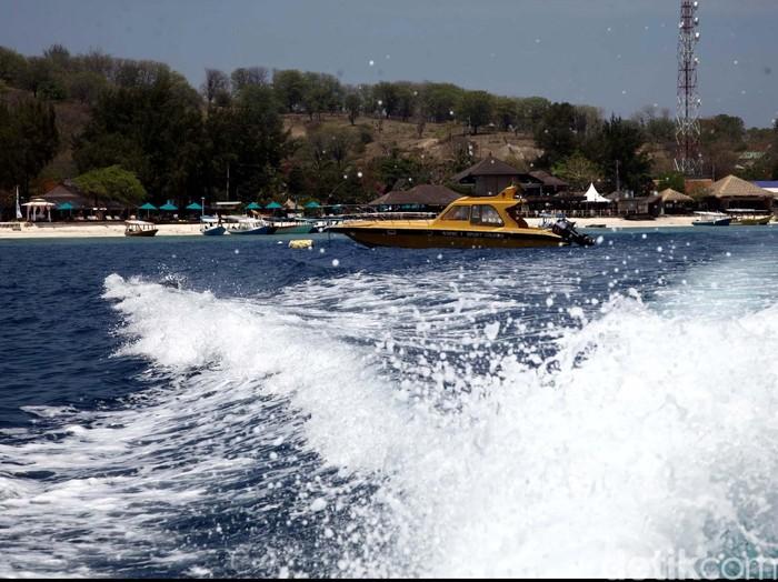 Ilustrasi pria yang fobia naik speedboat/Foto: Rachman Haryanto