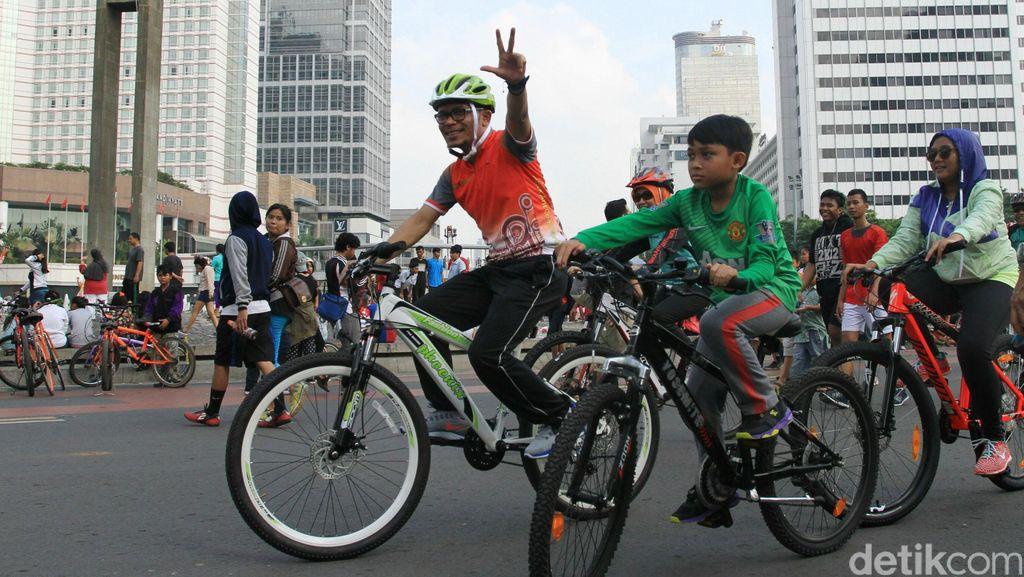 Mumpung Jakarta Sepi Ditinggal Mudik, Gowes Yuk!