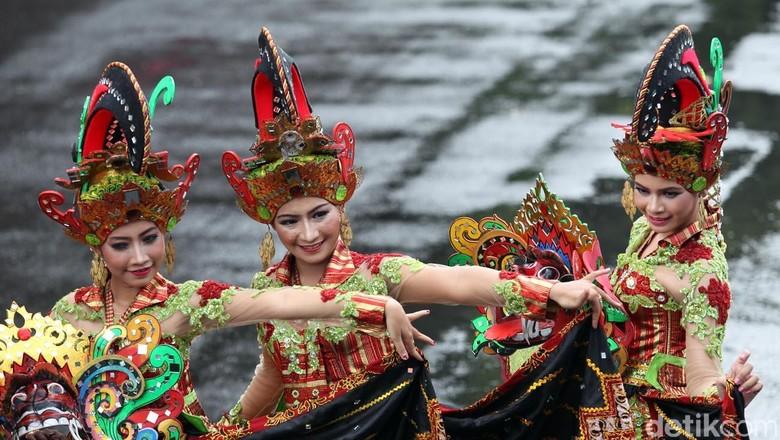 Banyuwangi Ethno Festival, salah satu event wisata terkenal (Budi Sugiharto/detikcom)