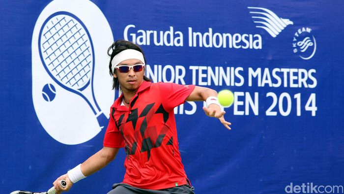 Christopher Rungkat (Rengga Sancaya/detikSport)