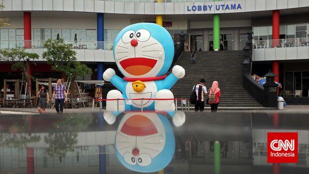 Doraemon sudah tayang di Indonesia sejak 1988.