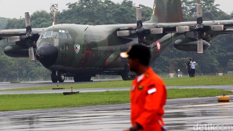 Pesawat Hercules TNI Hilang Kontak di Wamena Papua