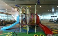Tempat bermain di Bandara Changi (Agung Pambudhy/detikTravel)