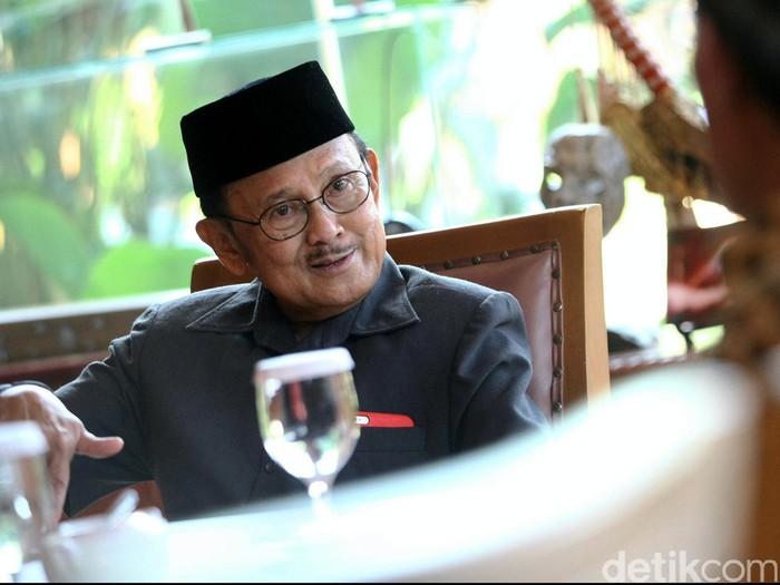 Mendiang Presiden BJ Habibie (Foto: Rachman Haryanto/detikcom)