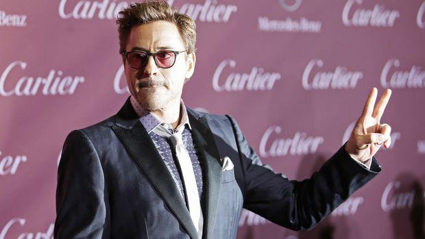 Sang Iron Man, Robert Downey Jr., jadi selebritas dengan penghasilan terbesar ke-20.